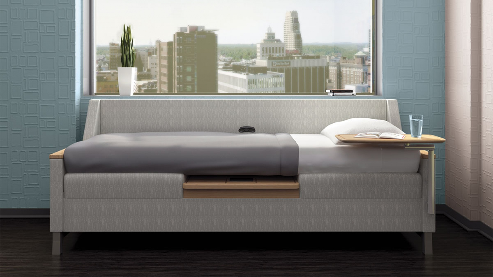 Genial Reverie Is A Sleepover Sofa For Healthcare Spaces That Offers Supreme Form  And Function. Thoughtfully Designed With Multiple Arm Styles, ...