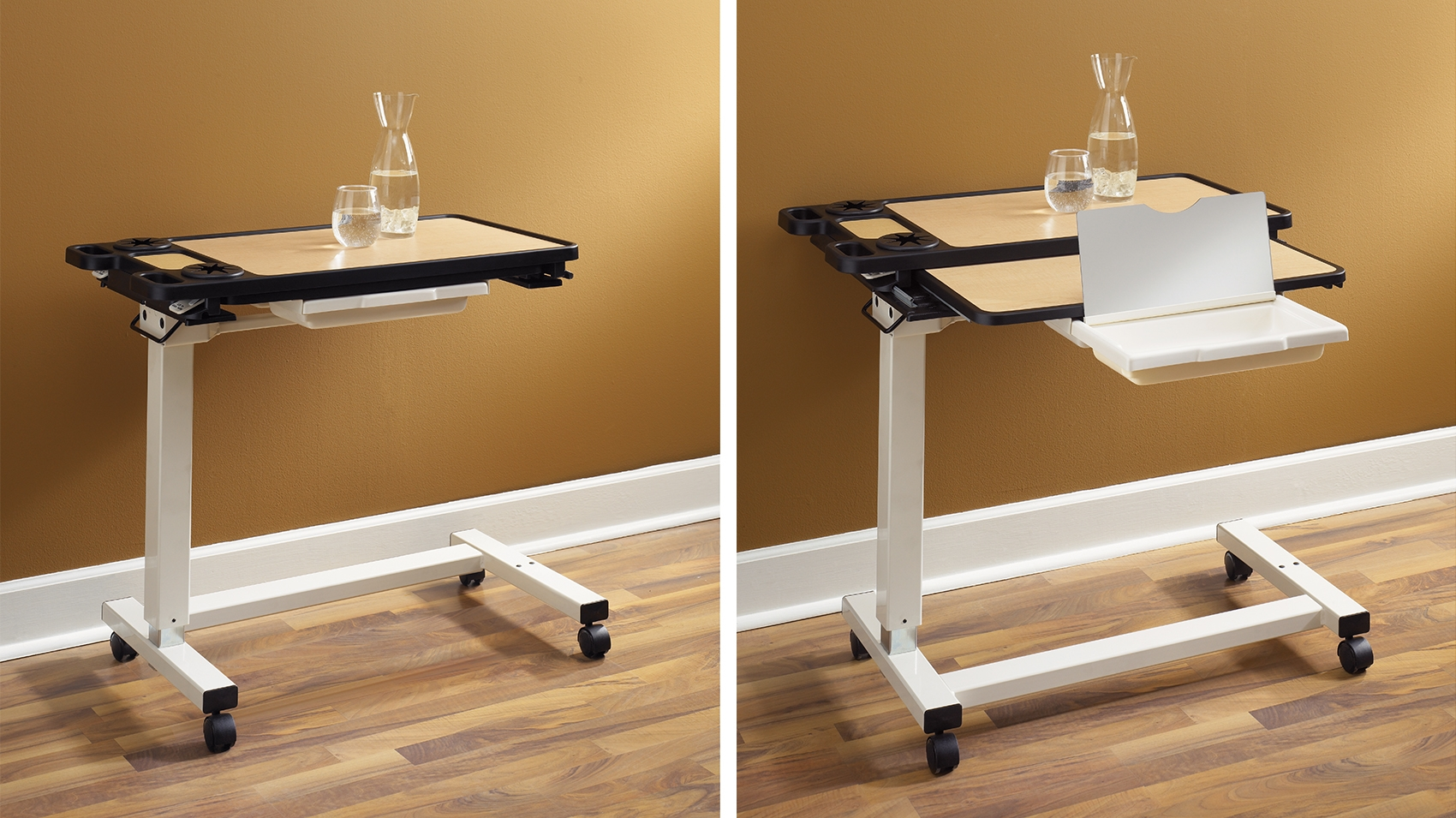 Over the bed table - Featuring A Classic And Simple Design Carolina S Overbed Table Is A Perfect Solution For Any Patient Area With Two Different Styles Featuring Multiple