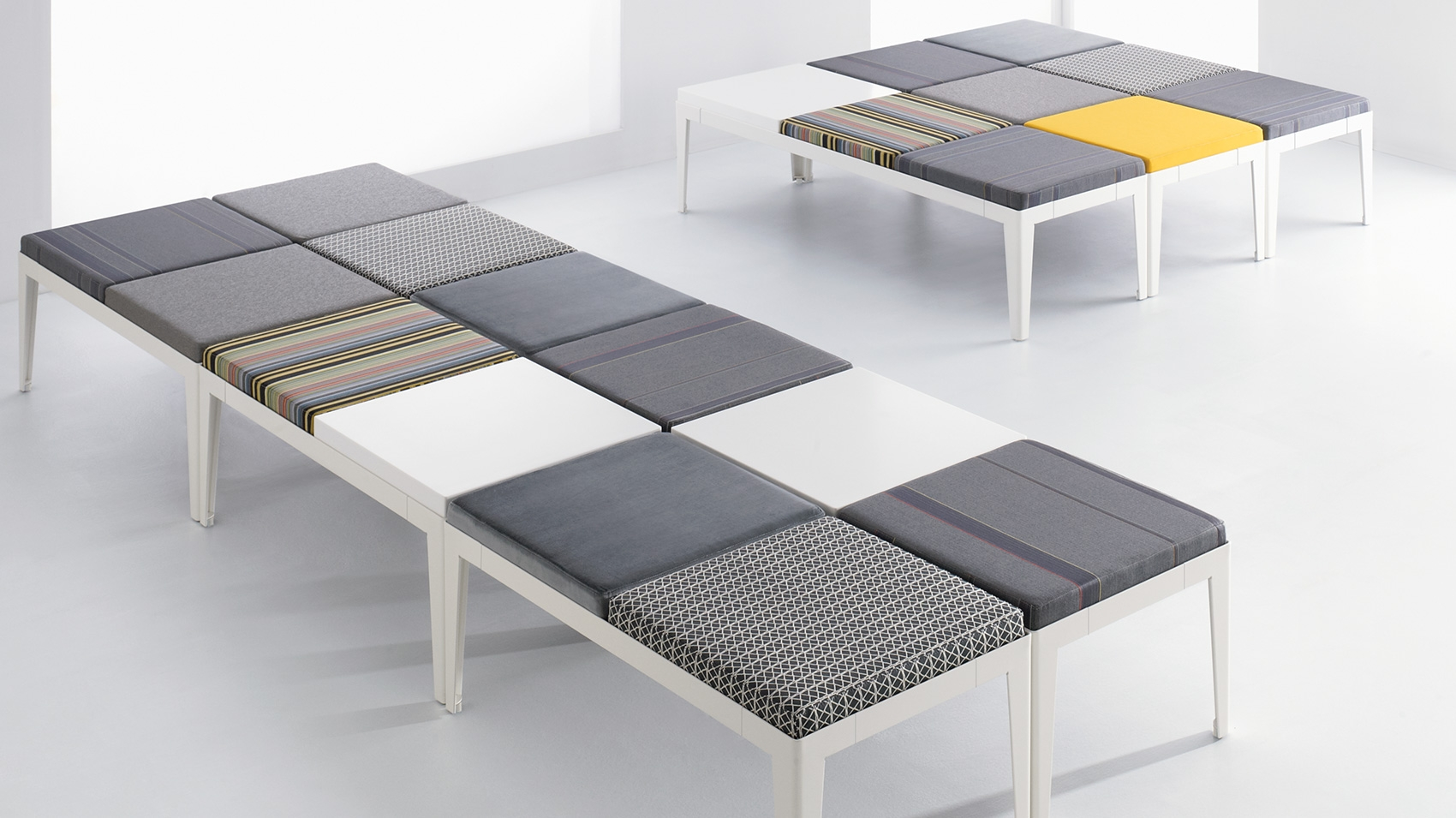 B nda is pure and simple modern lounge furniture that delivers  configurability for sensible and adaptable social  public spaces. B nda   OFS Brands