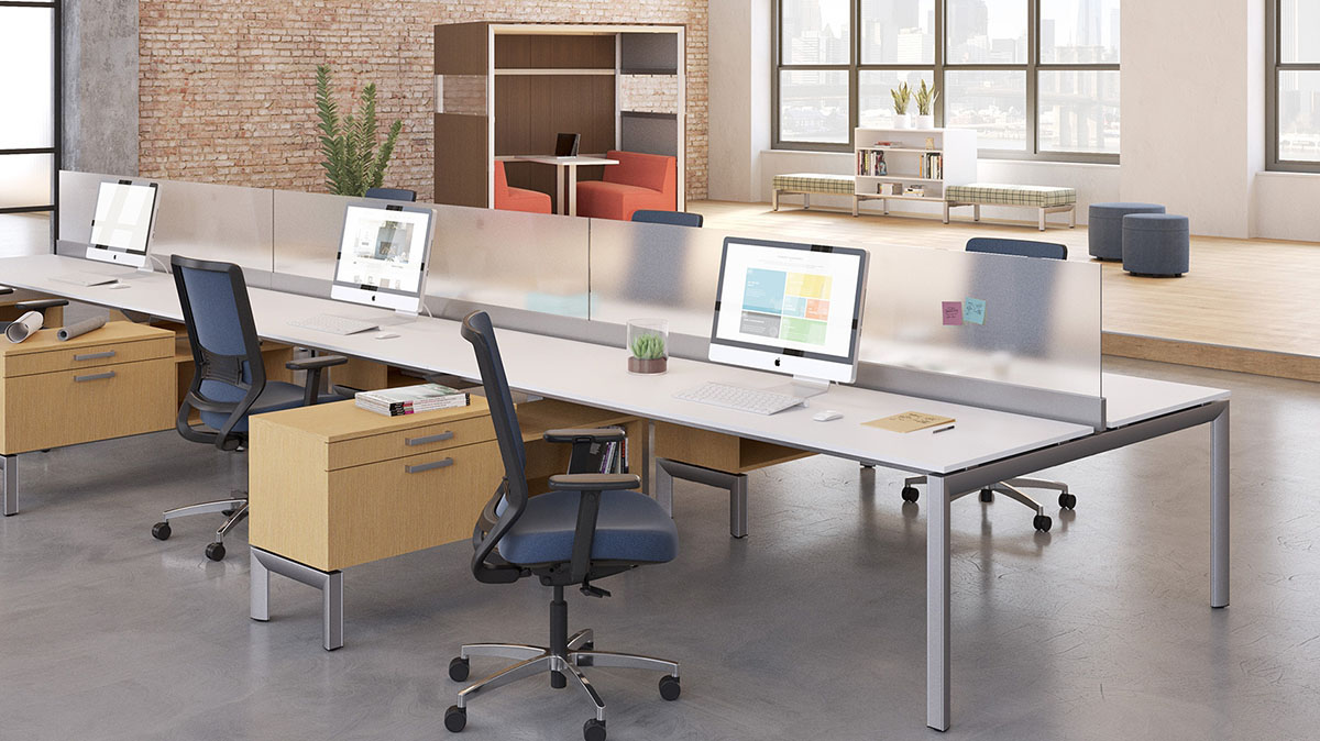 Open Floor Plan Office Furniture: OFS